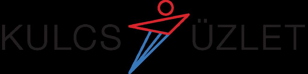 Kulcs-Üzlet logo - black